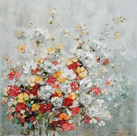 HOME AFFAIRE Aliejinis paveikslas »Florella« didelė...