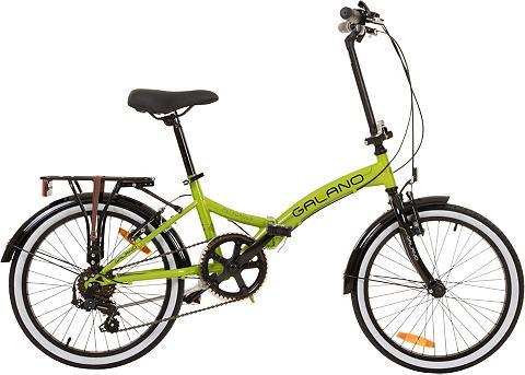 GALANO Sudedamas dviratis » Metropolis« 6 Gan...