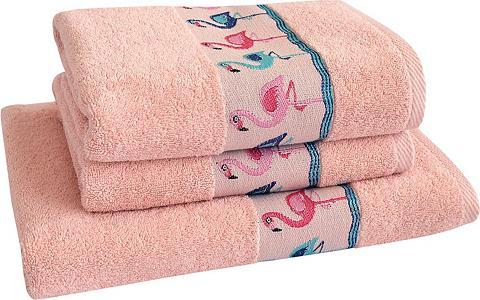 DYCKHOFF Rankų rankšluostis rinkinys »Flamingos...