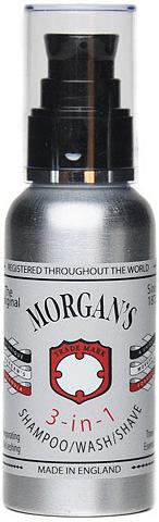 Morgan's Haarshampoo »3-in-1 Shampoo/Wash/Shave...
