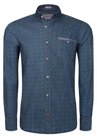 SIGNUM Cooles Rugged Marškiniai su smulkus ra...