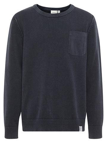 NAME IT Einfarbiger megztas megztinis