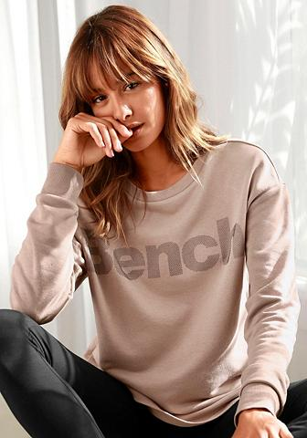 Bench. Sportinio stiliaus megztinis su Labeld...