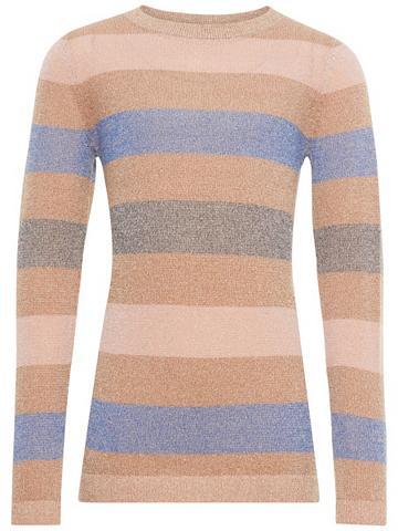 NAME IT Blizgiu papuošimu Feinstrick megztinis...
