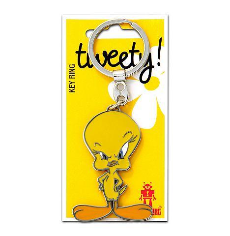 LOGOSHIRT Raktų pakabukas im Tweety-Design