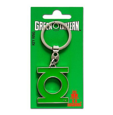 LOGOSHIRT Raktų pakabukas su Green Lantern-Logo