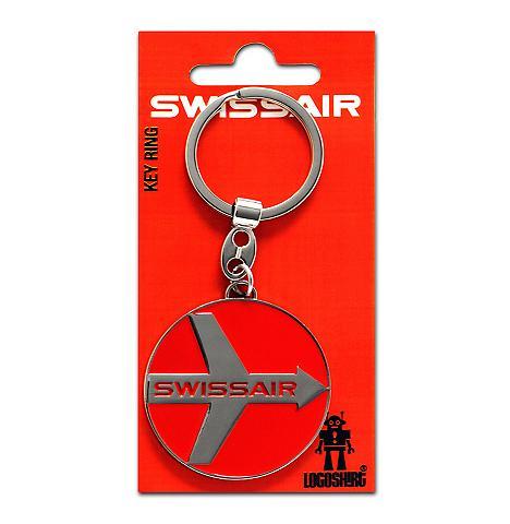LOGOSHIRT Raktų pakabukas su Swissair-Logo