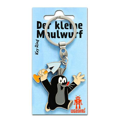 LOGOSHIRT Raktų pakabukas su kleiner Maulwurf-Mo...