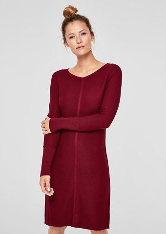 S.OLIVER RED LABEL Megzta suknelė su raštas