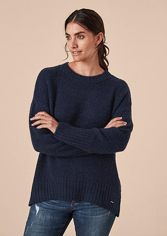 TRIANGLE Lässiger megztinis su Wolle