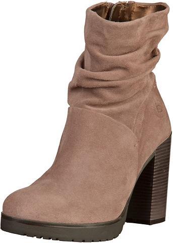 bugatti »Veloursleder« High-Heel-Stiefelette