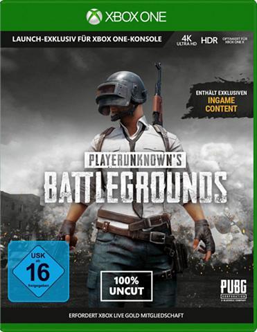 XBOX ONE Playerunknown's Battleground v1.0