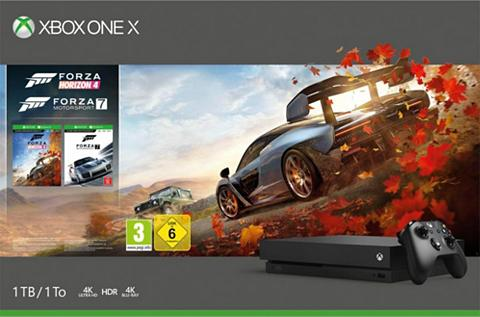 XBOX ONE X 1 TB (Bundle ir Forza Horizon 4 + Fo...