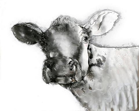 KAYOOM Aliumininis paveikslas Kuh 80cm x 100c...