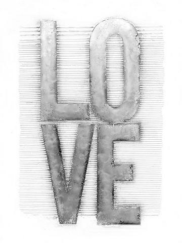 KAYOOM Aliumininis paveikslas Liebe 80cm x 10...