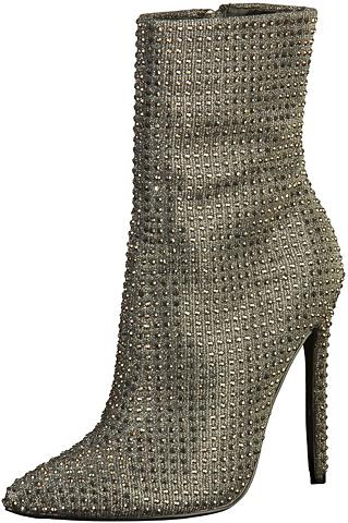 STEVE MADDEN »Textil« High-Heel-Stiefelette