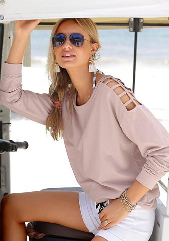 LASCANA Sportinio stiliaus megztinis su Cut-ou...