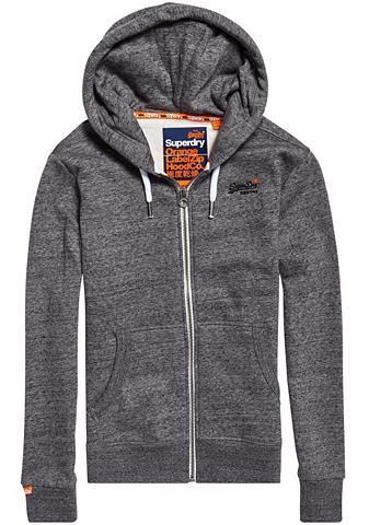 SUPERDRY Megztinis su gobtuvu »Orange Label Zip...