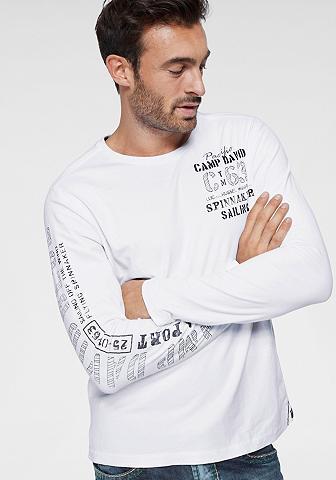CAMP DAVID Marškinėliai ilgomis rankovėmis