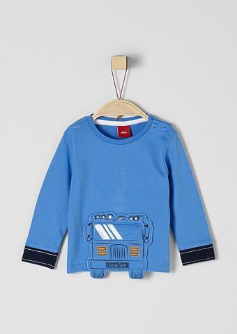 S.OLIVER RED LABEL JUNIOR Marškinėliai ilgomis rankovėmis su Bus...