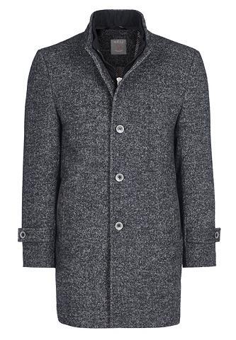 WEIS Vilnonis paltas su stilingas stačia ap...