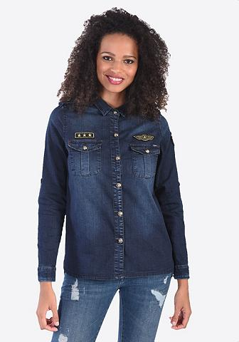 KAPORAL Džinsiniai marškinėliai su Emblem