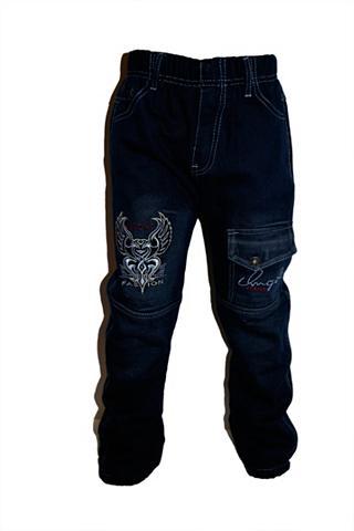 FAMILY TRENDS Pašiltinti džinsai su vilnos pamušalas...