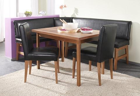 Kampinis virtuvės suolas su kėdėmis 15...