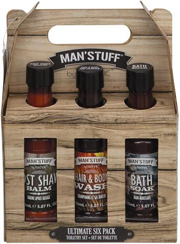 MAN'STUFF Hautreinigungs-Set »Ultimate Sixpack« ...