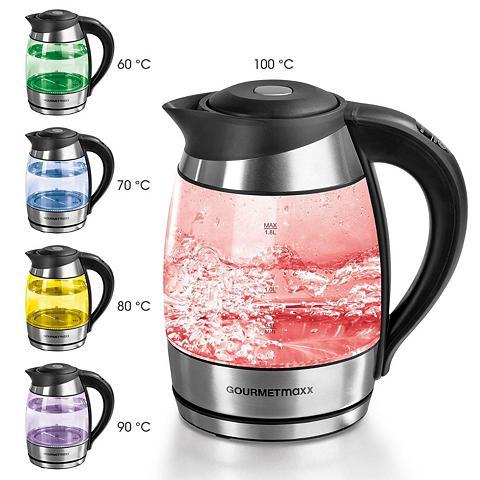 GOURMETmaxx Wasserkocher Glas-Wasserkocher 18 l 22...