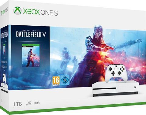 XBOX ONE S 1 TB (Bundle ir Battlefield V)