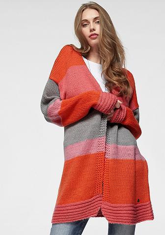 AJC Ilgas megztinis im Colorblocking-Desig...