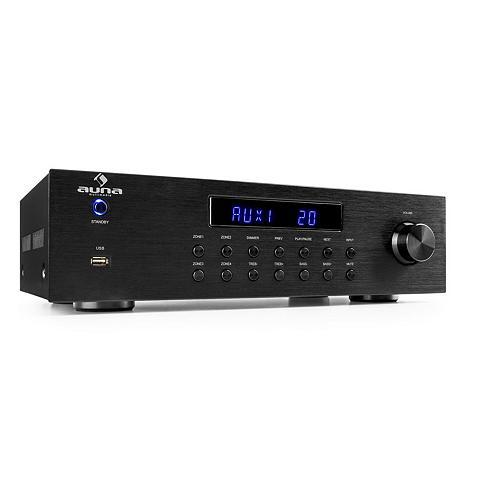 Auna 4 Zonen HiFi Stereo stiprintuvas 5x80W...