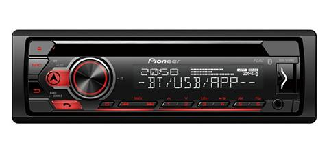 PIONEER_HIFI PIONEER 1-DIN CD-imtuvas su BLUETOOTH®...