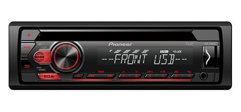 PIONEER_HIFI PIONEER 1-DIN CD-imtuvas su RDS USB la...