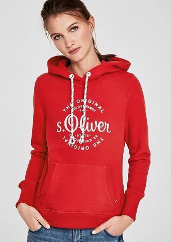 S.OLIVER RED LABEL Bliuzonas su Metallic-Logo