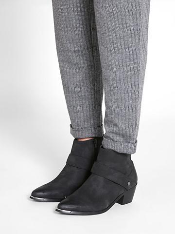 PIECES Aukštis Western Ilgaauliai batai