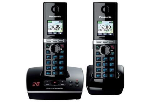 PANASONIC »KX-TG8062G DUO« Bevielis DECT-Telefon...