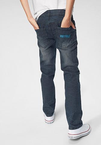 BUFFALO Džinsai su 5 kišenėmis
