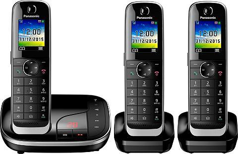 PANASONIC »KX-TGJ323 TRIO« Bevielis DECT-Telefon...