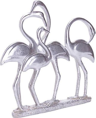 SCHNEIDER Dekoratyvinė figūrėlė Silver »Flamingo...
