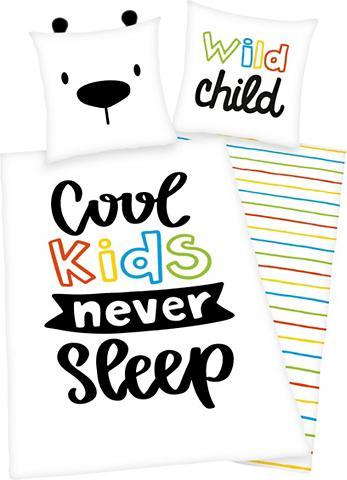 HERDING YOUNG COLLECTION Vaikiška patalynė »Cool kids never sle...