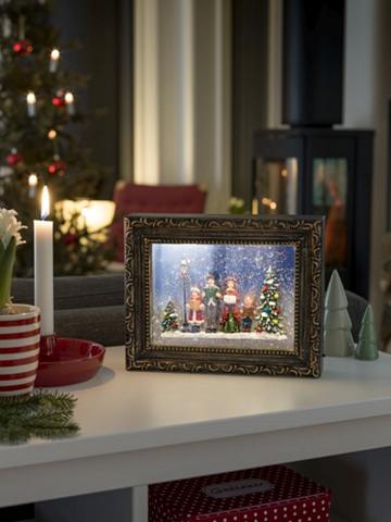 KONSTSMIDE LED Rėmelis su Weihnachtschor