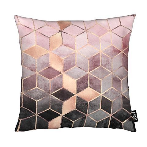 Dekoratyvinė pagalvėlė »Pink Grey Grad...