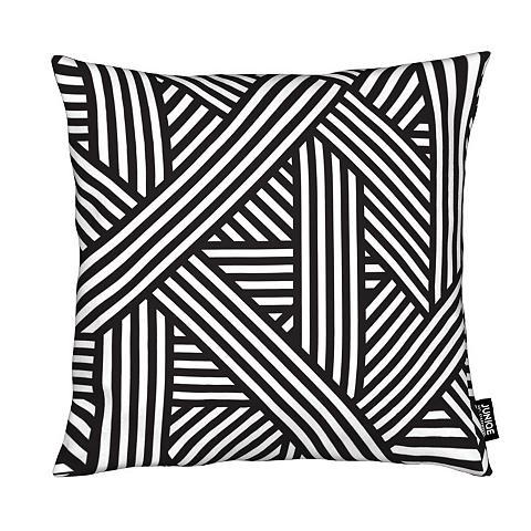 Dekoratyvinė pagalvėlė »B&W Lines« Jun...