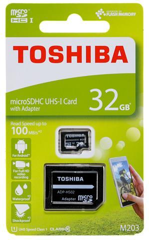 TOSHIBA Micro SDXC Atminties kortelė »micro SD...