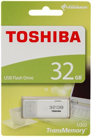 TOSHIBA USB laikmena »USB 2.0 32GB hayabusa«