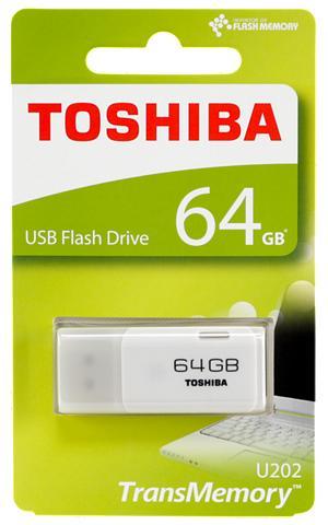 TOSHIBA USB laikmena »USB 2.0 64GB hayabusa«