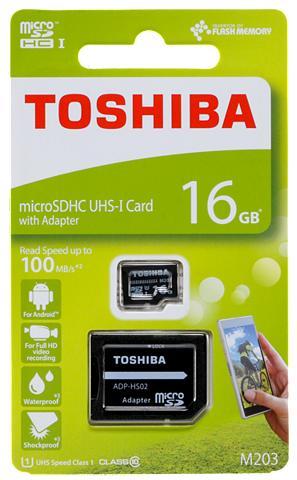 TOSHIBA MicroSDXC Atminties kortelė »microSDHC...