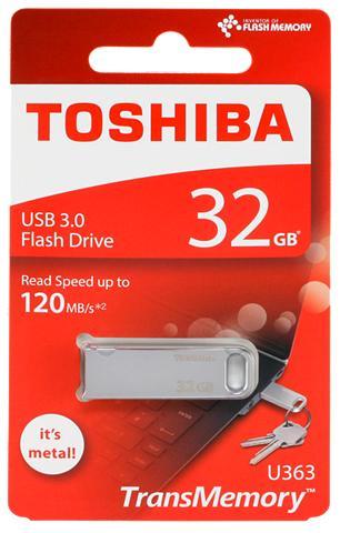 TOSHIBA USB laikmena »U363 USB laikmena 3.0 32...